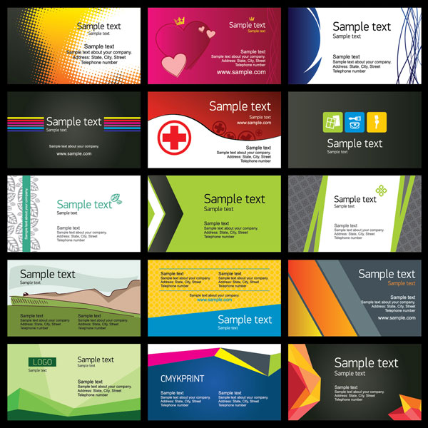 Business cards regional directory sample business card templates colourmoves